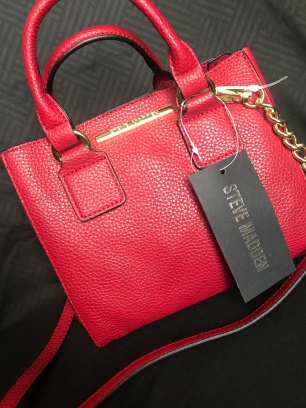 Mini Red Steve Madden Purse